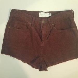 Kendall and kylie red shorts